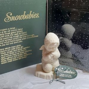 "Dept. 56 snowbabies "" Now I Lay Me Down to sleep"""